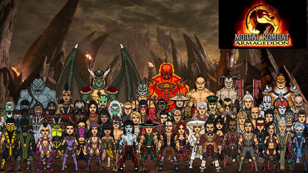Mortal Kombat Armageddon (Primary) by dzgarcia on DeviantArt