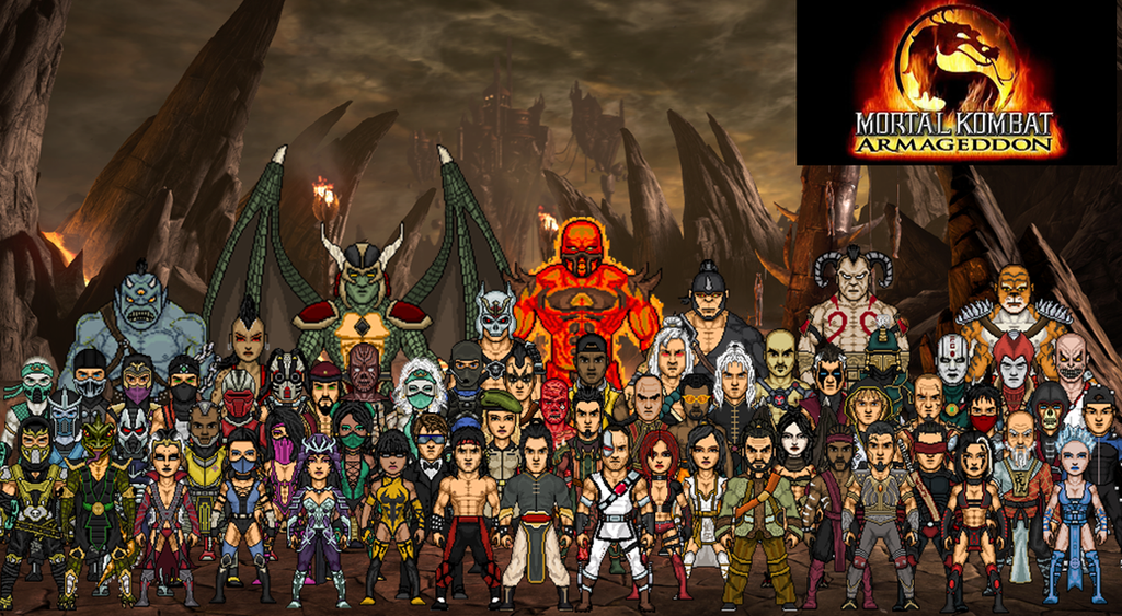 Mortal Kombat Armageddon (Alternate) by dzgarcia on DeviantArt