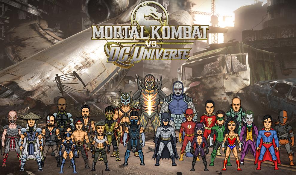 Mortal Kombat Vs Dc Universe скачать игру - фото 3