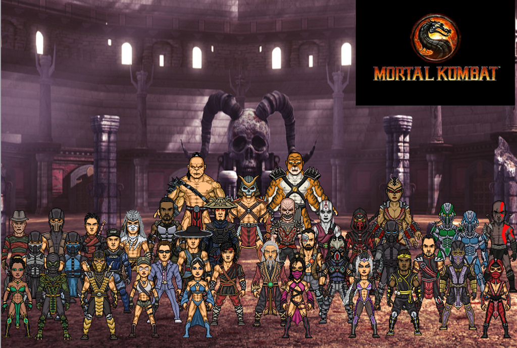 Mortal Kombat 2011 (Alternate) By Dzgarcia On DeviantArt