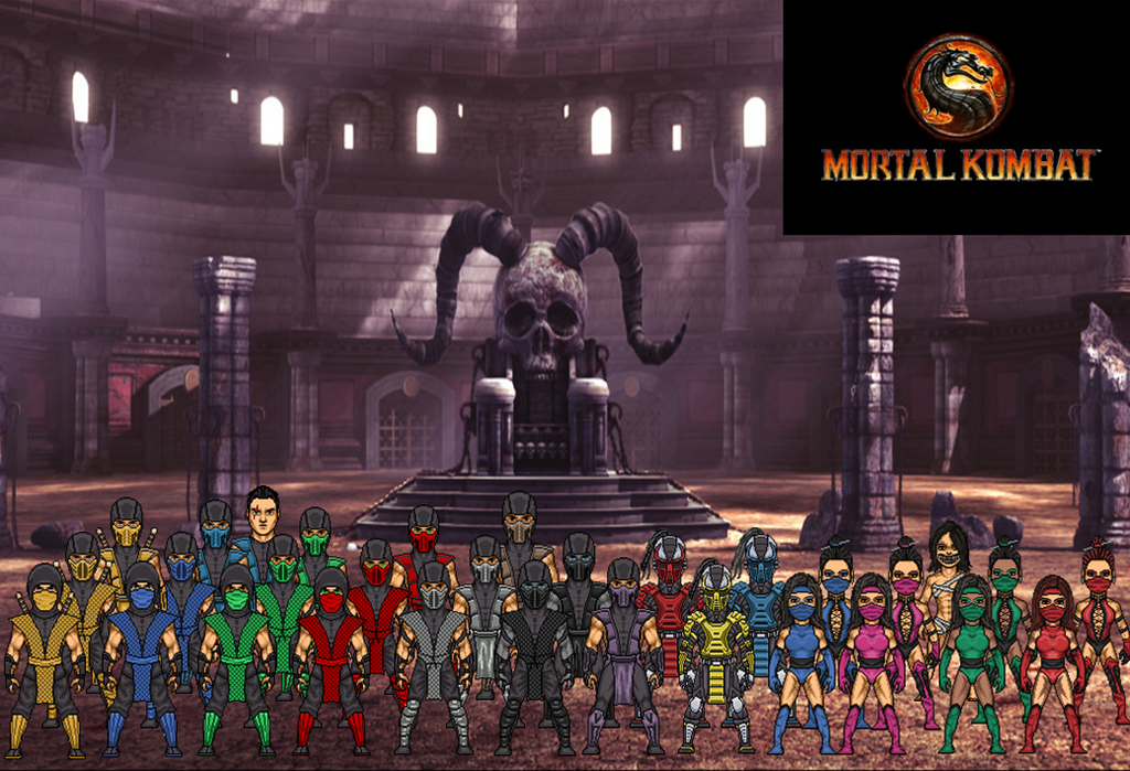 Mortal Kombat 2011 (Klassic Skins) by dzgarcia on DeviantArt