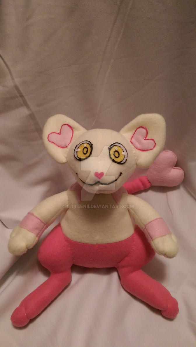 Hearts Shinx Fleece Plush