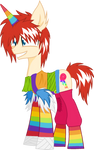 Rainbow LJ Pony
