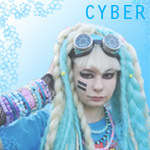 Cyber Icon by Crippled-Plaything