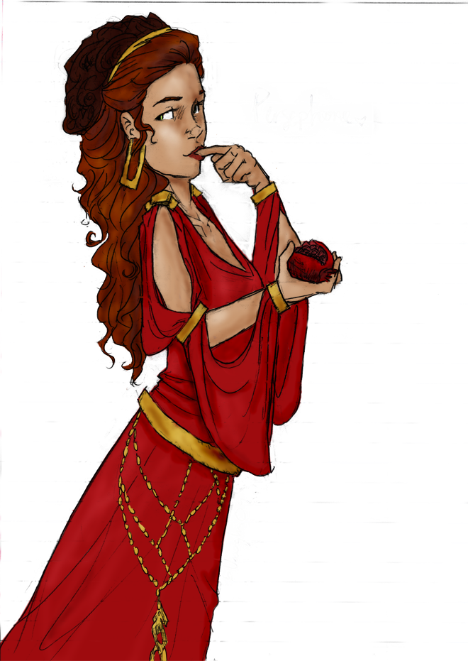 Persephone Less Than Three by xxBookworm