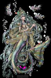 Commission: Mermaid by Limboplus