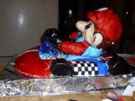 mario kart cake finished 2 by toastles