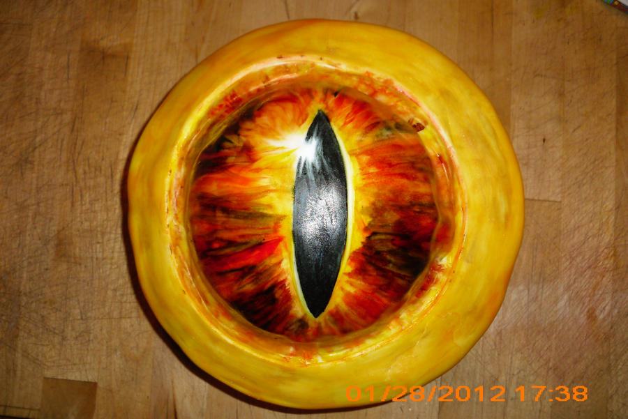 eye wreathed in flame 1 by toastles