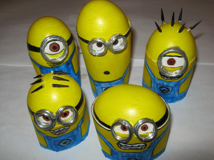 minion eggs group by toastles