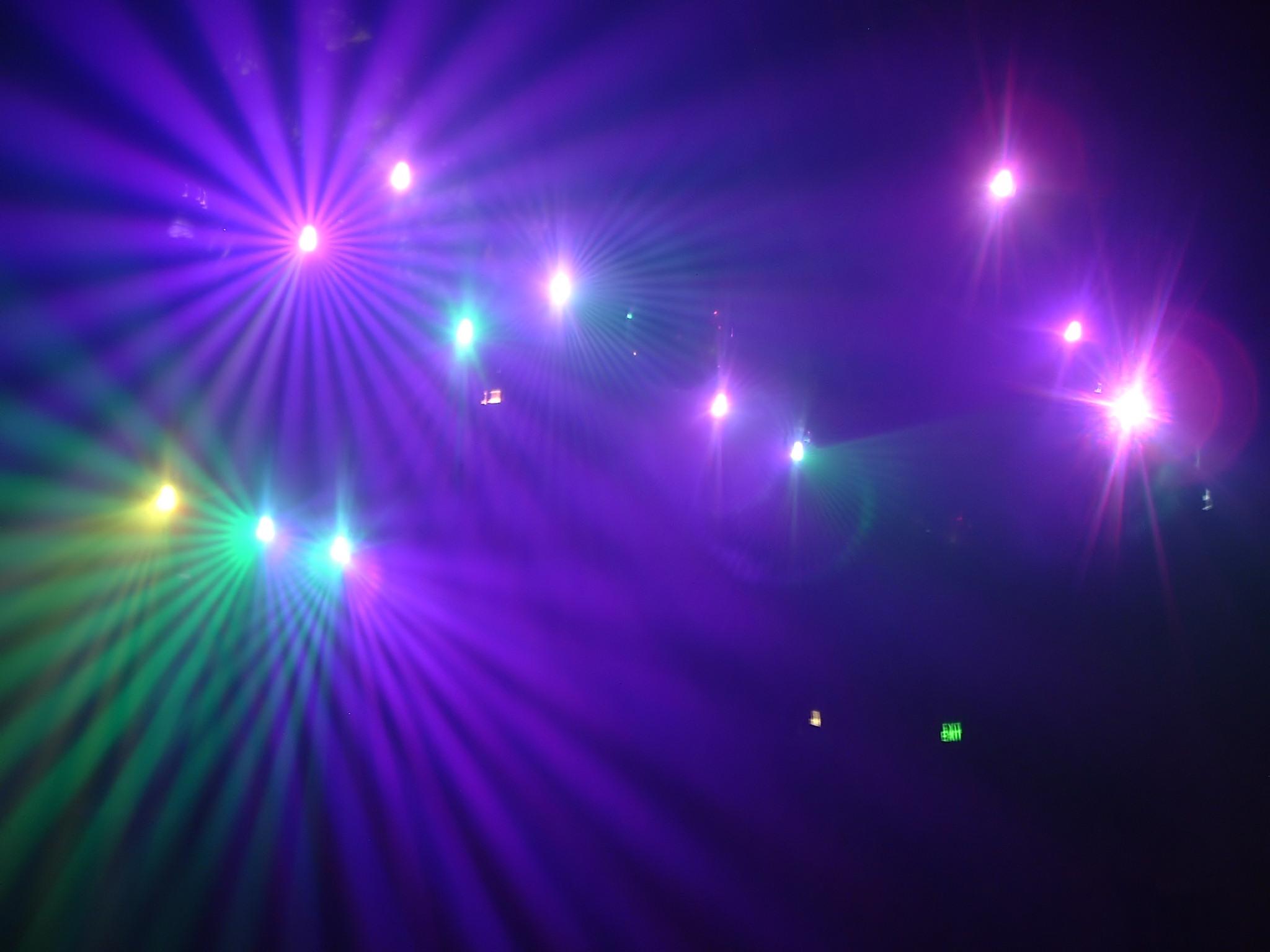 Nightclub Lights Background Stage Light Stock Photography