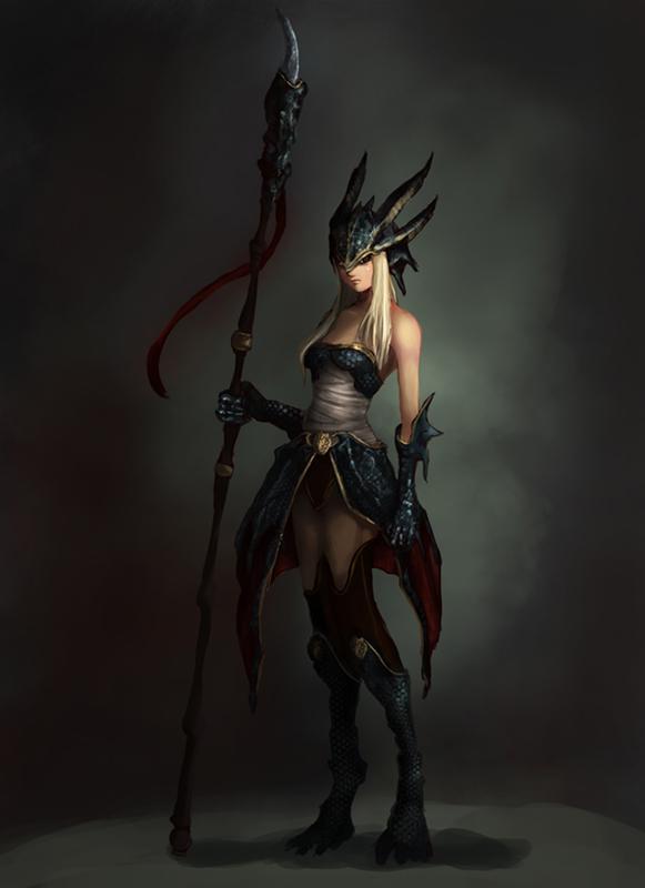 Dragon Warrior by MercurialXen