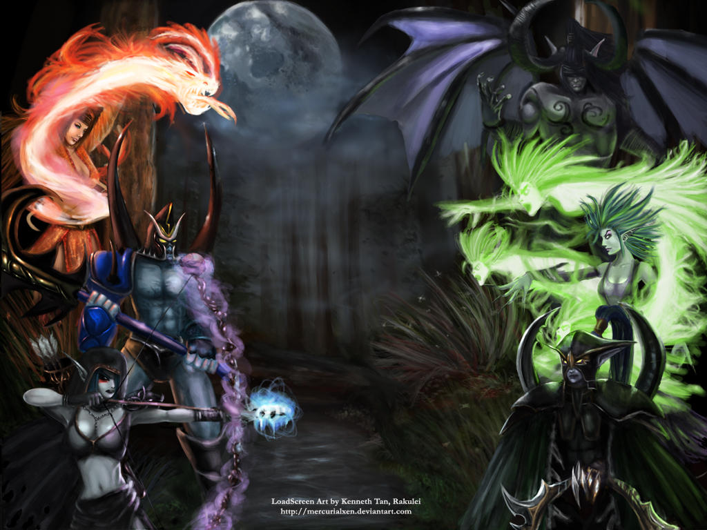 Defense Of The Ancients By Mercurialxen On Deviantart