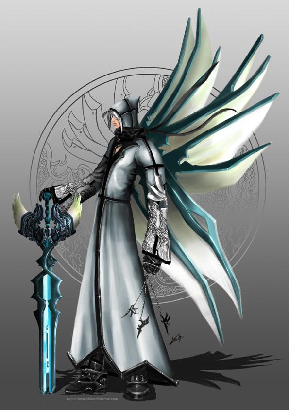 Rakio - Wings of Transcendence by MercurialXen