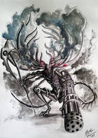 A Cyberpunk Manus by WeriKABOOM
