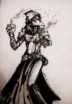 Plague Doctor - Darkest Dungeon by WeriKABOOM