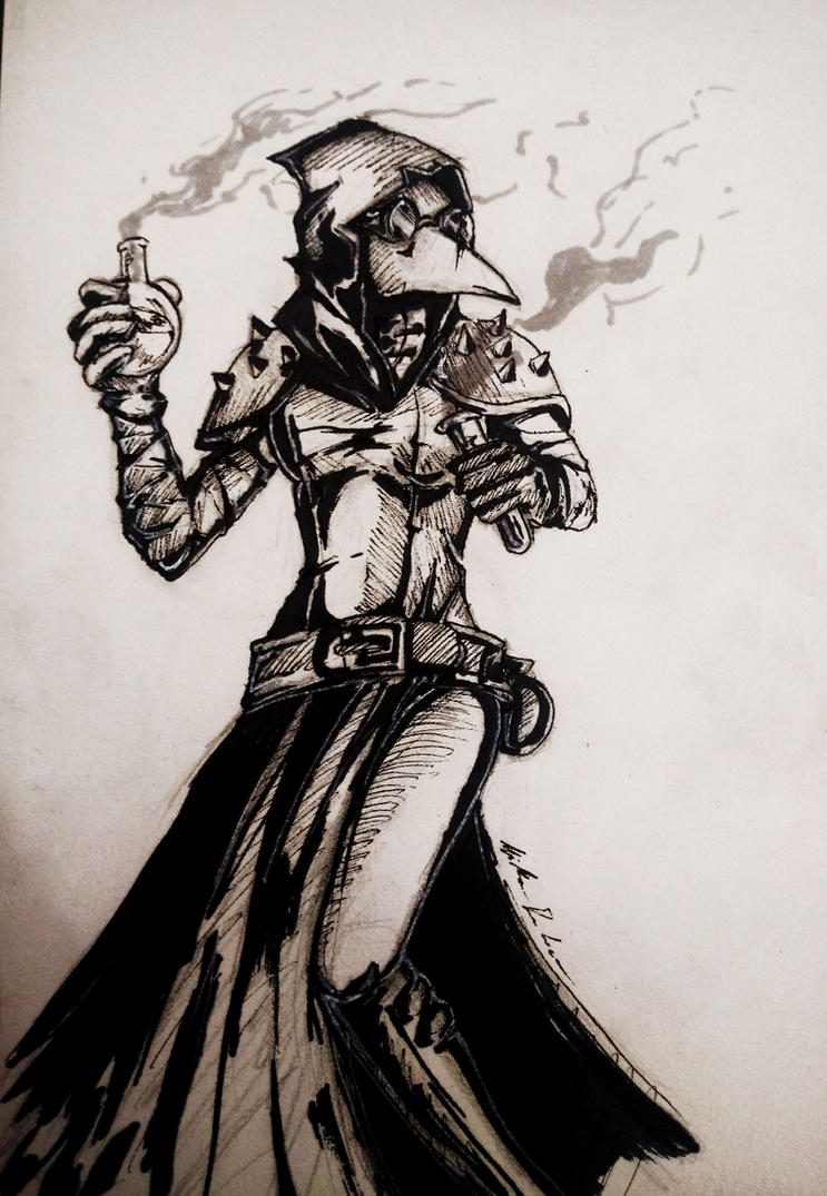 Plague Doctor Darkest Dungeon By Werikaboom On Deviantart
