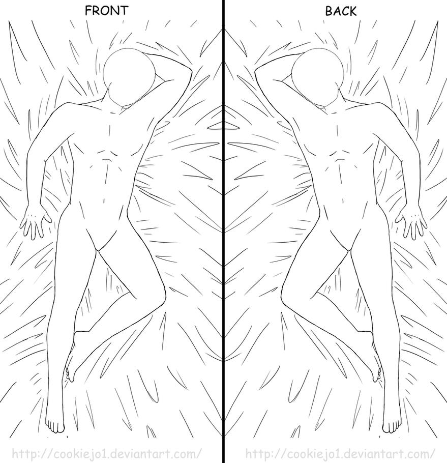 body pillow template male version by cookiejo1 on deviantart