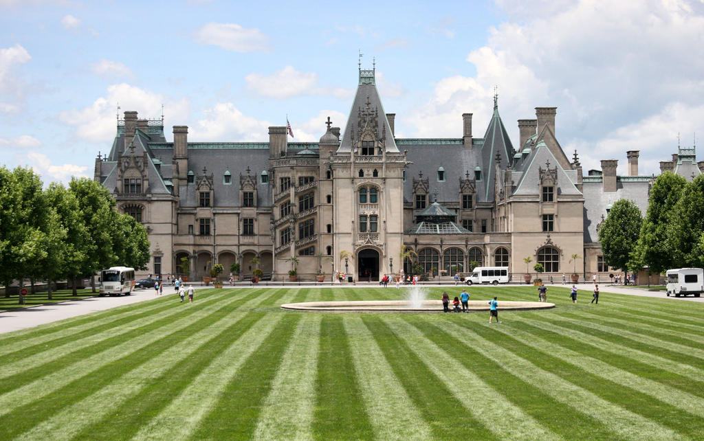 Biltmore House and Gardens by ce3Design