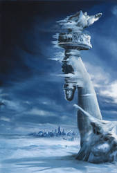 The Ice... by Emdigin