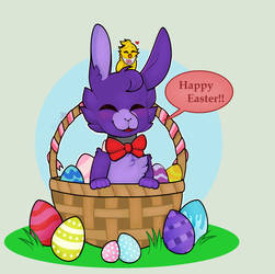. : Happy Easter : . by Kidademon