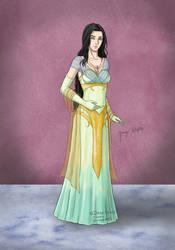 Sylvia Lavietta Delthrain by Draethius