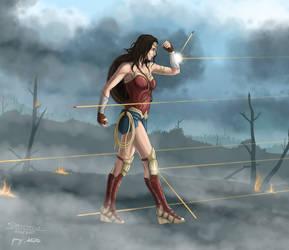 Diana by Draethius