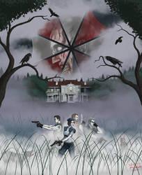 Resident Evil by Draethius
