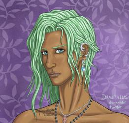 Evelleina Delthrain by Draethius