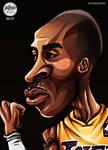 Kobe Bryant Caricature - Day 06/31 - #Inktober