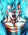 Vegetto Super Saiyan Blue (Dragon Ball Super)