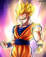 Son Gohan - Dragon Ball Super Fanart (Ep 79/80) by TomislavArtz