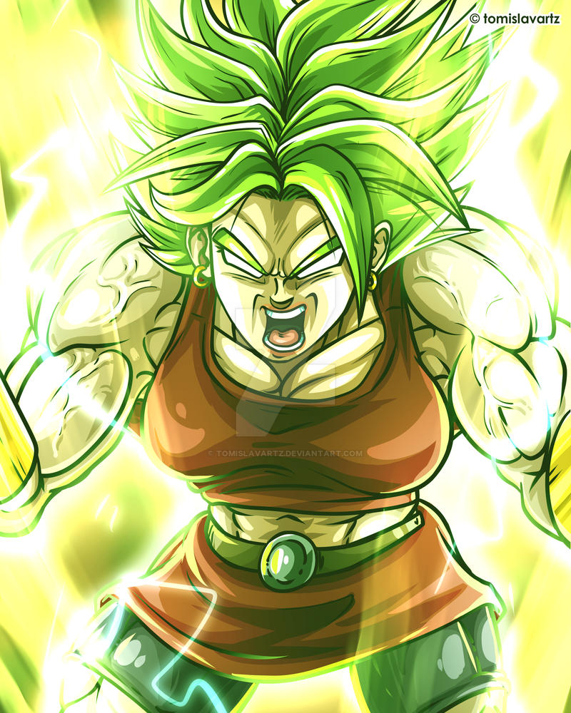 Kale Full Power - Dragon Ball Super Fan Art by TomislavArtz