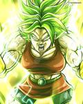 Kale Full Power - Dragon Ball Super Fan Art
