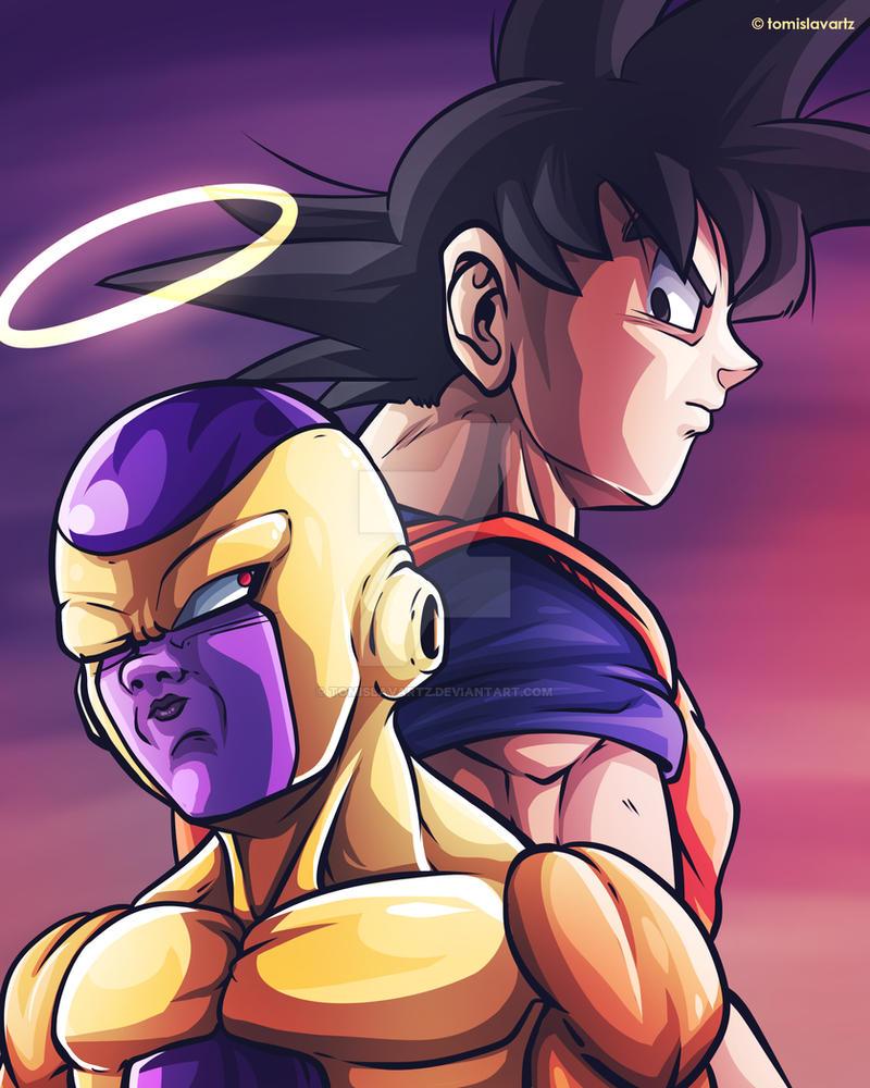 Frieza x Goku [Dragon Ball Super] by TomislavArtz