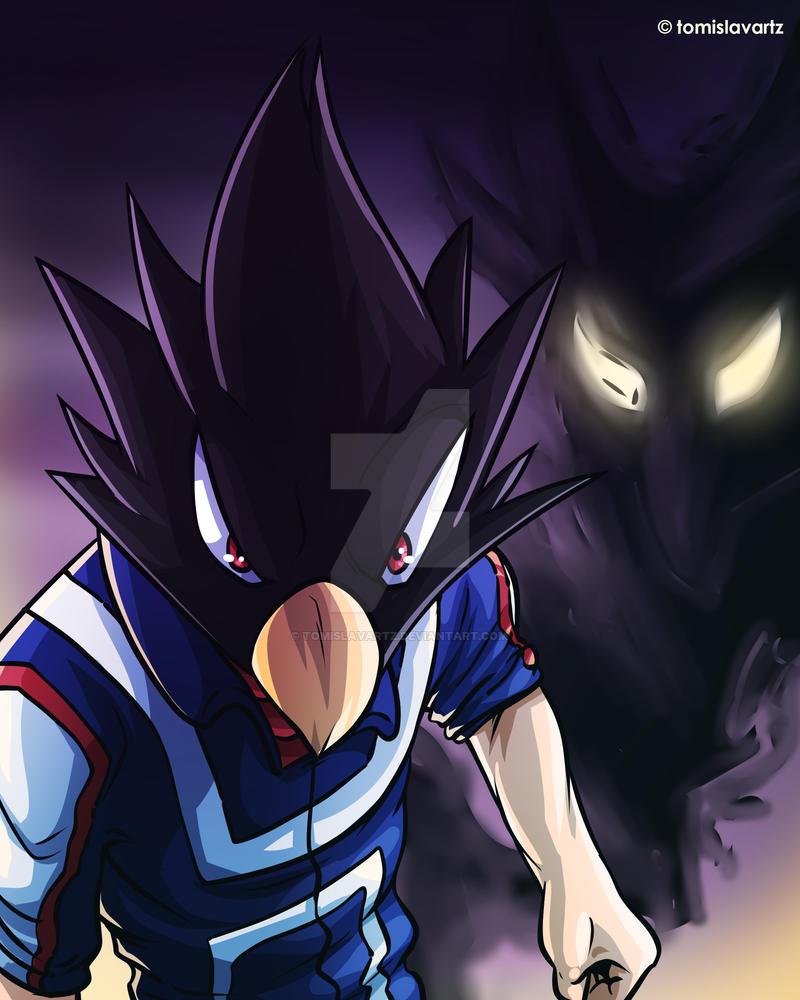 Tokoyami - My Hero Academia Fan Art by TomislavArtz