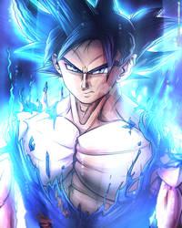 Goku UI Omen - Fan Art by TomislavArtz