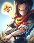 Android 17 x Vegeta [Dragon Ball Z Fan Art]