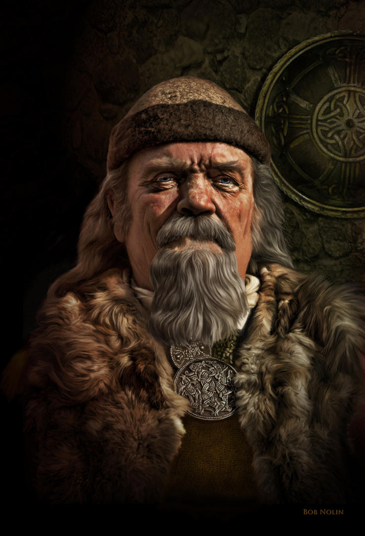 Viking Chieftain by bnolin