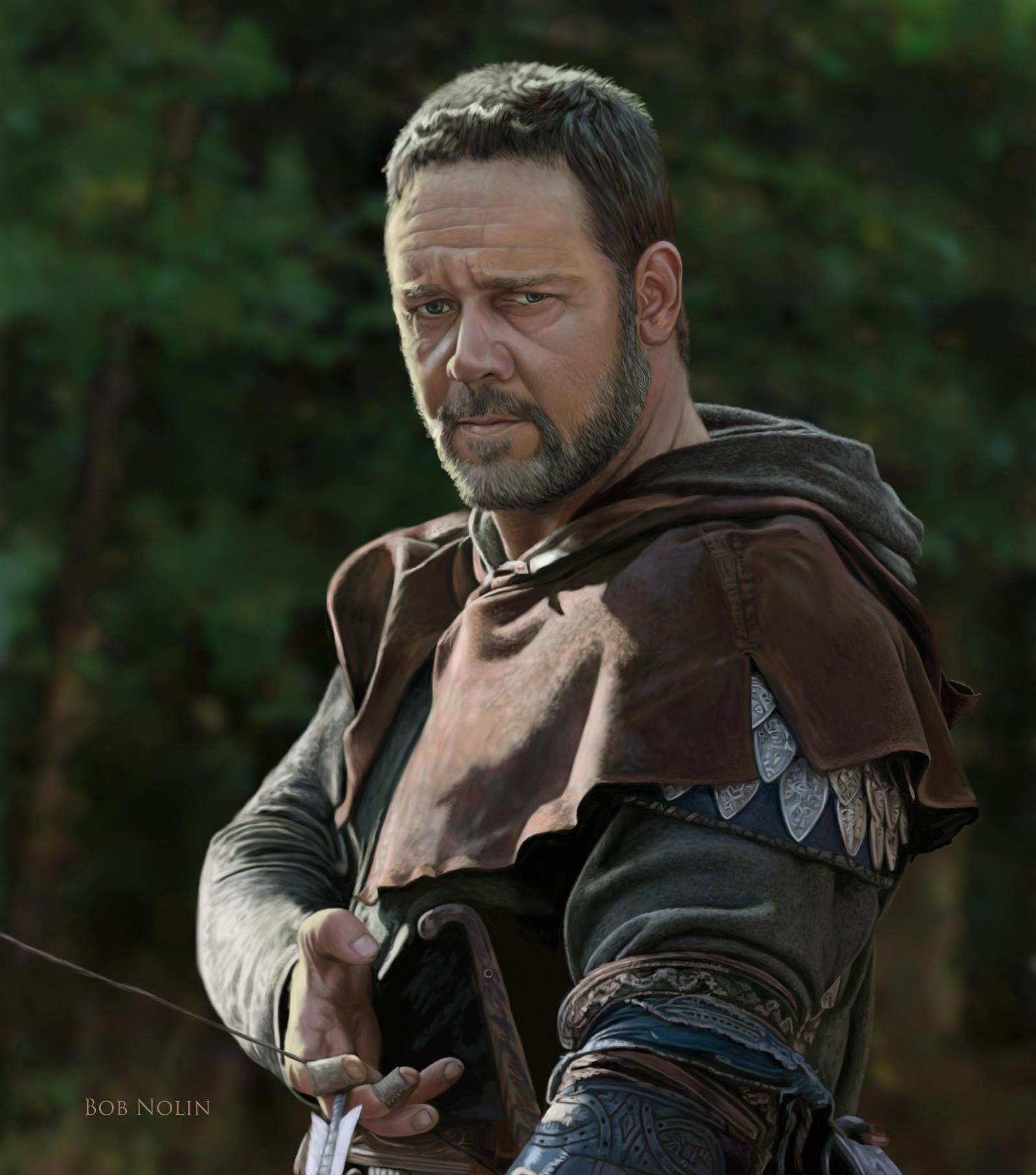 Russell Crowe as Robin Hood by bnolin on DeviantArt