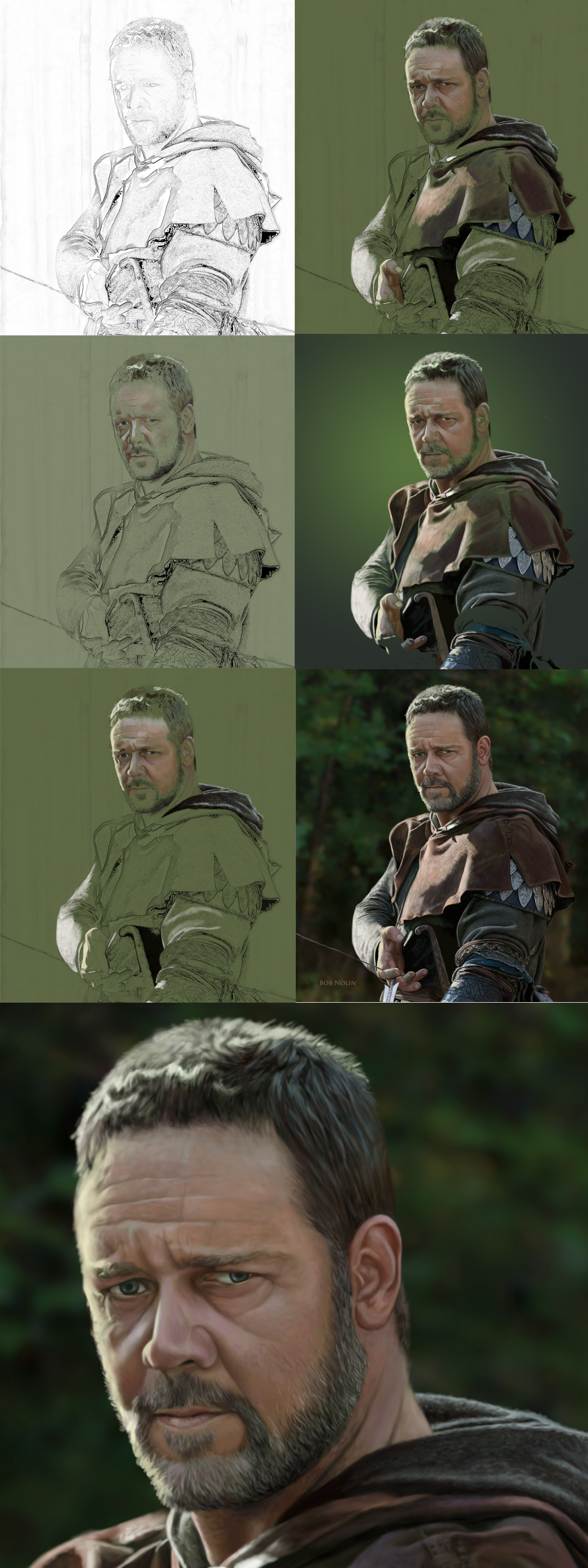 Robin Hood step by step by bnolin