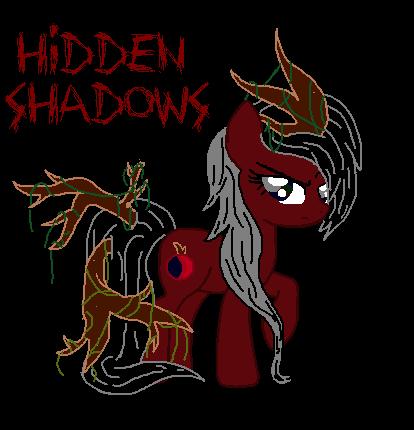 dark forest art hidden shadows dark forest themed mlp oc by kittyartpony on