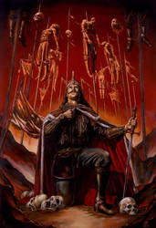 Vlad the Impaler by warlordfgj