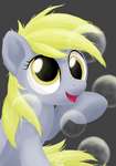 Bubbles with Derpy