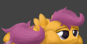I'm so Booored -  Scootaloo
