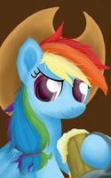 Cowgirl Rainbow Dash by SymbianL