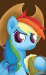 Cowgirl Rainbow Dash