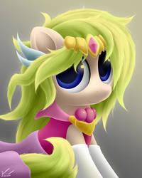 Zelda Pony by SymbianL