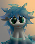 Aurora Hair Experiment by SymbianL