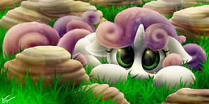 Hidden Sweetie Belle by SymbianL