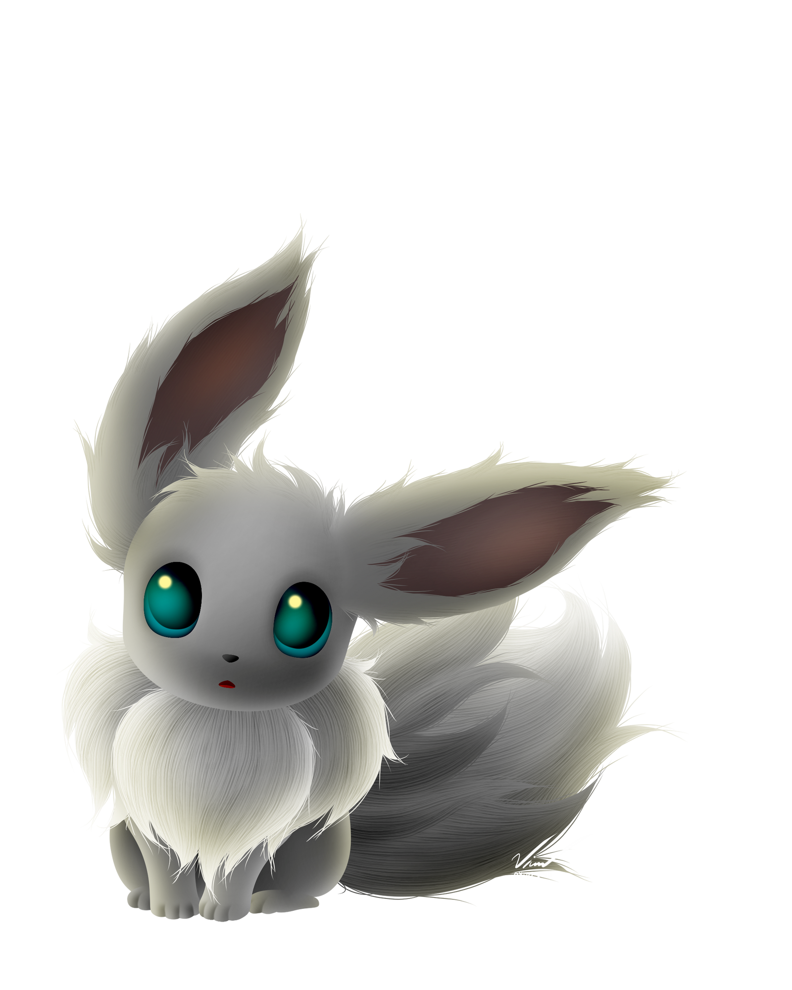 Shiny Eevee by SymbianL on DeviantArt